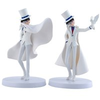 Wholesale toy figures for sell resale online - 2pcs set Detective Conan japanese anime figure KAITO KUROBA Kaitou Kiddo kid doll new arrival hot sell toy for kids