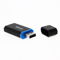 iphone dongle großhandel-Mini 3,5 mm Aux USB Bluetooth Musik Audio Receiver Wireless Dongle Adapter für Aux Car PC für Iphone 5 6s 7 Samsung IOS Android