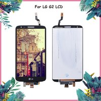 Wholesale lg g2 screen panel for sale - Original LCD for LG G2 D802 Display Touch Screen Digitizer Assembly Display for LG G2 D802 LCD D800 D801 D805 D803