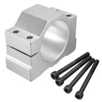 ingrosso montaggio 52mm-New ER11 monta diametro interno 52mm mandrino motore montato sedile Cnc Parts Xyz Axis per PCB CNC Mahine ER11 300W 400W 500W Motore