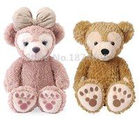 sevimli bebek teddies toptan satış-Yeni Duffy ShellieMay Ayı Peluş Oyuncak 40 cm Sevimli Teddy Bear Dolması Hayvanlar Çocuk Oyuncak Bebekler Bebek Çocuk Hediyeler için