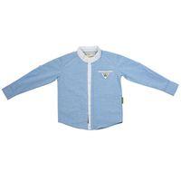 корейские бренды одежда для детей оптовых-Горячие продажи дети дизайнер мальчик бренды дети с длинным рукавом рубашки хлопок твердые корейский мальчик одежда для 1-6 лет носить осень P40