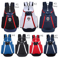 Wholesale team soccer bags for sale - In Stock Man s Bags The Olympic Packs Backpack Large Capacity Waterproof Training Bags USA National Team Basketball Backpacks Colors