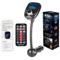 автомобиль сотового телефона bluetooth оптовых-ЖК-автомобиль беспроводной A2DP Bluetooth V3.0 громкой связи FM-передатчик 3,5 мм сотовый телефон TF SD USB Mp3-плеер+измеритель напряжения+зарядное устройство+пульт дистанционного