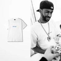 güzel rahat kıyafetler toptan satış-Ben Karar Verdi Güzel Sahne Baskı Beyaz T-shirt Erkekler Harajuku Pamuk Gündelik Giyim O Boyun Harajuku Yüksek Sokak Tee Gömlek Homme Kpop