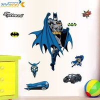 Wholesale best living room designs - R- boy 3d stickers ZooYoo9110 nursery wall art design home decor cartoon hot movie sticker boy room wall decal best selling