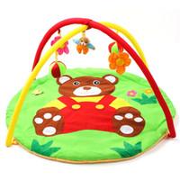 alfombras de niñas al por mayor-Dibujos animados Soft Baby Play Mat Kids Rug Floor Mat Boy Girl Carpet Game Mat Baby Activity Blanket para niños Juguete educativo de rastreo