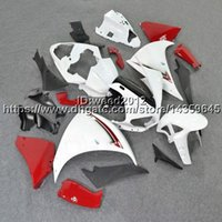 ingrosso yamaha yzf r1-23colors + 5Gifts carenatura ABS bianco rosso per Yamaha YZF R1 2009-2011 Carenatura in plastica ABS