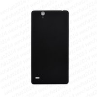 Wholesale Battery C4 - 100% New Back Battery Door Back Cover Housing Cover for Sony C4 E5303 E5306 E5353 free DHL