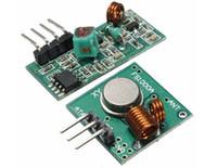 émetteur de caméra à distance achat en gros de-Brand New Haute Qualité 433 Mhz Transmetteur RF avec récepteur lien Kit pour ARM MCU Télécommande TR