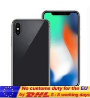 Wholesale Google Smart Cover - Seal Box 5.5inch Goophone x goophone ix face recognition Wireless Charging glass cover 4g lte Octa Core 4G Ram 32G Rom Show 256Gb Free Dhl