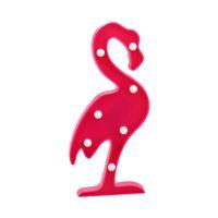tischleuchten großhandel-CHIBUY 3D Flamingo Lampe LED-Licht hängende Wand oder Stand Nacht Leuchten Tischlampe Home Decor Christmas Party
