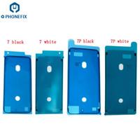 3m band für lcd großhandel-FIXPHONE Hohe Qualität NEUE LCD Wasserdicht 3 Mt Pre Cut Kleber Klebeband Vor Gehäuse Rahmen Aufkleber Für iPhone 7 7 Plus