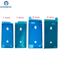 yüksek kaliteli iphone çıkartmalar toptan satış-FIXPHONE Yüksek Kalite YENI LCD Su Geçirmez 3 M Öncesi Yapıştırıcı Tutkal Bant Ön Konut Çerçeve Sticker iPhone 7 Için 7 Artı