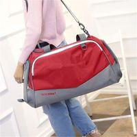Wholesale luggage nylon resale online - U A Fitness Gym Sports Hand Bag Tote Travel Duffle Bag Under Waterproof Nylon Shoulder Bags Large Capacity Luggage Bag Big Packsack B71305