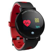 круглые дисплеи оптовых-Y6 Плюс Smartwatch Артериального Давления Сердечного Ритма Секундомер Спортивный Режим Смарт-Часы Мужчины Женщины Круглый Большой Дисплей Браслет