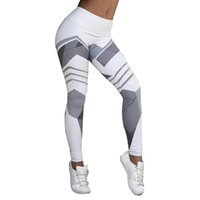 Wholesale hottest girl yoga pants for sale - HOT SALE Women Tight High Waist Yoga Sports Pants Print Running Fitness Gym Workout Leggings Girl