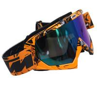 Wholesale Downhill Glass - 2018 Newest KTM Motocross Goggle Motorcycle Dirt Bike Downhill Glasses Motocross Off-Road Eyewear ATV Gafas For KTM Helmet