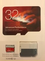 Wholesale Phones Memory Card - Orange EVO & White Red EVO Plus 32gb 64gb 128gb 256gb 16Go microsdXC card memory TF for Smart Phones