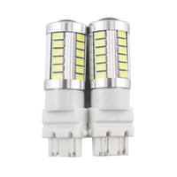 Wholesale car lamp bulb 3157 for sale - Group buy 2pcs T25 P27 W SMD LED Car Brake Lights Daytime Running Light Stop Lamp Taillight Car Styling Universal New