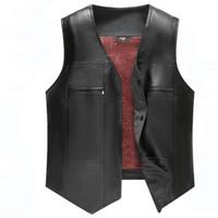 Wholesale vest for sale - Mens Faux Leather Vest Wedding Clothing PU Coats Mens Vest