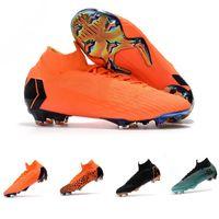 Hot Kids Mercurial Superfly SuperflyX KJ VI 360 Elite Ronaldo CR7 FG  Hombres Mujeres Hombres Zapatos de fútbol Cristiano Botas de fútbol Botines 3ca057b02c6e6