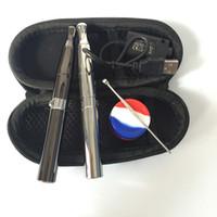 ingrosso vaporizzatore per solidi-cera quarzo bobina vaporizzatore penna puffco pro secco erba e frantumarsi solido penna fumare ciotola profonda batteria di riscaldamento QUARZO e vaporizzatore sigaretta