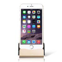 apfel wiege ladung großhandel-2018 Universal Dock Ladestation für iPhone 7 7 Plus 8 8 Plus Tischladestation Dock Station für iPhone X mit Kleinpaket