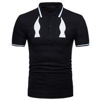 уникальный hd оптовых-HD-DST 2018 новый шаблон мужская рубашка мода повседневная уникальный дизайн печати с коротким рукавом топы тройники