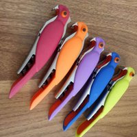 Wholesale accessories for birds resale online - Multi Function Openers Bird Shape Red Wine Bottle Opener Resistance To Fall Durable Kitchen Accessories For Bar jm BB