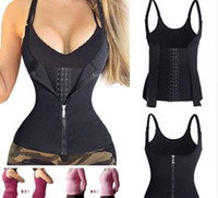 brustkontrolle groihandel-Body Shaper Abnehmen Drei Breasted Taille Bauch Gürtel Taille Cincher Underbust Control Korsett Taille Trainer S-XXL Freies DHL