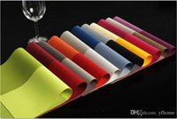 Wholesale Pvc Tablecloths - Tablecloth high quality PVC woven closure, no fading, good heat resistance, table mats, table settings and accessories.