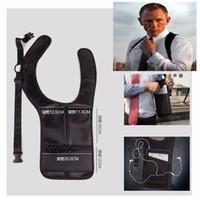 cajas del teléfono doogee al por mayor-Bolsa de axila Bolsa antirrobo Bolsa portátil de nylon Gancho para cinturón Caja del teléfono para VKworld VK7000 S8 para DOOGEE BL12000 Pro Bolsas para teléfonos