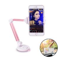 pops duruyor toptan satış-Üst 360 Derece Dönen Pop Araç Telefonu Tutucu Soket Evrensel Telefon Masaüstü iPhone Samsung Xiaomi için Tutucu Stand