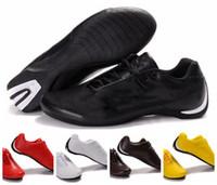 gatos zapatos para correr al por mayor-2018 Courtstar Future Cat OG M1 Motorsport Canada Zapatos casuales Triple Negro Blanco Marrón Plata Amarillo Cuero Hombres Zapatillas de deporte Zapatillas de deporte