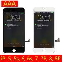 ingrosso schermo di scorrimento-Per iPhone 6S 6S Plus 7 7 Plus Display LCD Touch Digitizer di ricambio con telaio completo