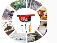 880lbs Mini Electric Wire Hoist Remote Control Garage Auto Shop Overhead Lift B2