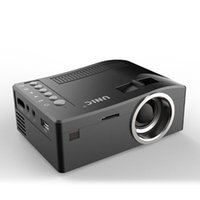 Wholesale mini projector manual resale online - Hot Seller Original Unic UC18 Mini LED Projector Portable Pocket Projectors Multi media Player Home Theater Game Supports HDMI USB