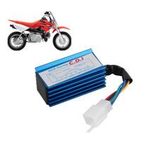 motosiklet kutusu toptan satış-C D I TZR50 GY6 5 Pin Yeni Yarış CDI Kutusu Ateşleme Bobini HONDA XR50 CRF50 50 70 90 110 125cc için Motosiklet Performans Aksesuarları