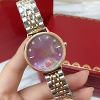 Wholesale watch clasp stainless steel butterfly - 2018 Top AAA quality Brand Fashion Women Watch Luxury sapphire wristwatch StainlessSteel High quality clock Butterfly clasp Swiss movement