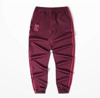Wholesale Full Letter - Casual Sports Joggers Men Kanye West Loose Long Pencil Pants Men Elastic Pants Hip Hop Clothing CALABASAS Letters Printed Trousers