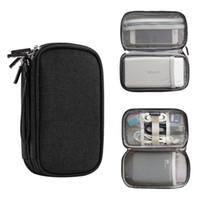 gadgets organizer tasche groihandel-Umweltfreundliche Reisegadget Organizer Tasche tragbare digitale Kabeltasche Elektronikzubehör Lagerung Tragetasche Tasche für USB-Energienbank