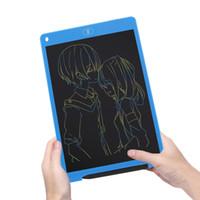 e tablet tabletleri toptan satış-Taşınabilir Renkli LCD Yazma Tablet Pad Çizim Not Defteri Elektronik Grafik Dijital El Yazısı Kurulu E-Stylus kalem ile Yazma
