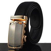 Wholesale active shops - 2018 New Automtic Buckle Best Quality Designer bussiness cool Fashion Men's Belts big size fat casual formal fashion free shopping