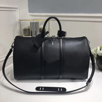 Wholesale Red Journey - 45*27*20cm Mens womens Duffel Bags fashion Sport&Outdoor Packs Top luxury brand Short journey bag Single shoulder sports storage bags