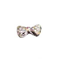 ingrosso arco d'arte-Manicure di moda Consigli Fai da te Accessori Lega di strass intarsiato Papillon Nail Art Glitters Decorazione