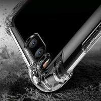 eckabdeckungen großhandel-Tpu telefon case 1,5mm für iphone xs xr max 7 8 x 6 6 s soft clear anti shock rückseitige abdeckung für samsung note 9 8 s9 s8 plus case kantenschutz