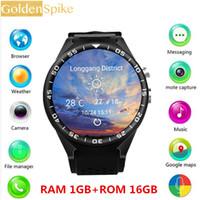 галактика smartwatch оптовых-Смарт-часы S99C для Android 5.1 ОС 1,39 дюйма 2.0MP камера Мониторинг сердечного ритма SmartWatch для S4 / Galaxy Note 8 S9 + A9 Star
