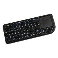 Wholesale Tv Air Phone - Rii Mini Wireless Keyboard Air Mouse Keyboards 2.4G Handheld Touchpad gaming keyboard for phone smart tv box android smartphones