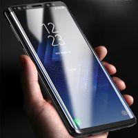 octa core phone großhandel-Goophone s9 plus s9 + android telefon mtk6580 quad core 1 gb + 8 gb show octa core 1 gb + 16 gb show 4g lte entsperrt smart handys téléphone dhl